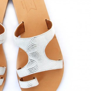 Energeia- Ice White suede | oumies.gr
